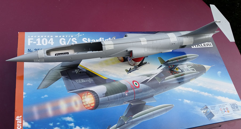 F104 G/S Starfighter italeri  (new moulds) F104_001