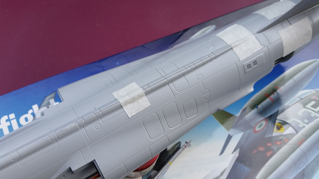 F104 G/S Starfighter italeri  (new moulds) F104_002